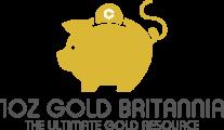 1OZ Gold Britannia Logo