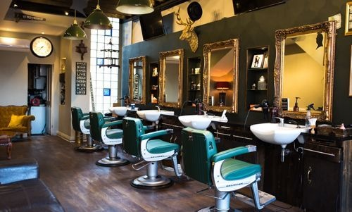 Barber Room London Logo