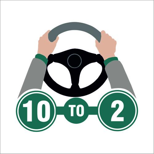 10 to 2 Driving School Logo