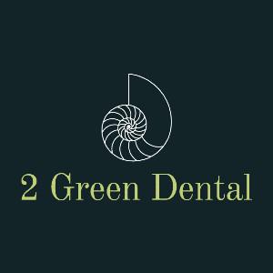 2 Green Dental Logo