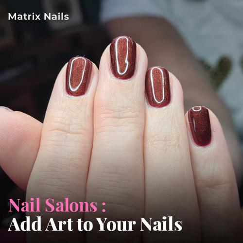 Matrix Nails Logo