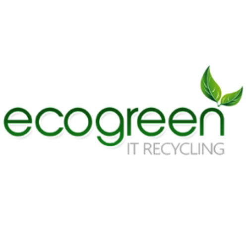 Eco green it recycling Logo