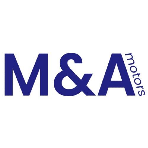 M and A motors Logo