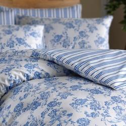 Stanley Hamilton Duvet Set Hotel Quality, 100% Finest Cotton Blend, Floral Reversible Cottage Garden Printed Bedding Set